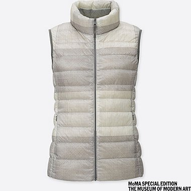 WOMEN SPRZ NY ULTRA LIGHT DOWN VEST (Sol Lewitt)