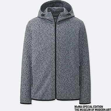 MEN SPRZ NY DRY STRETCH SWEAT FULL-ZIP HOODIE (ANNI ALBERS)