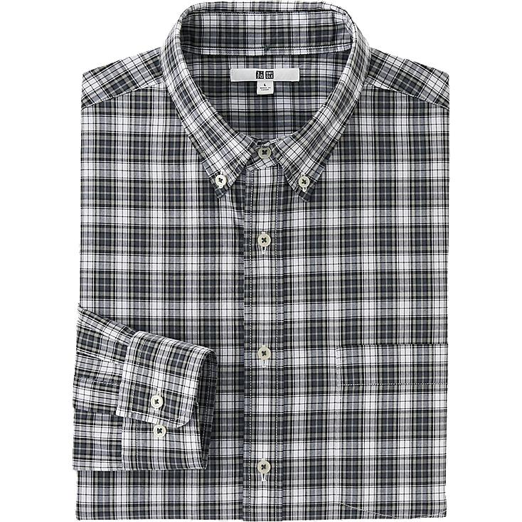 Chemise Coton Extra Fin Manches Longues HOMME