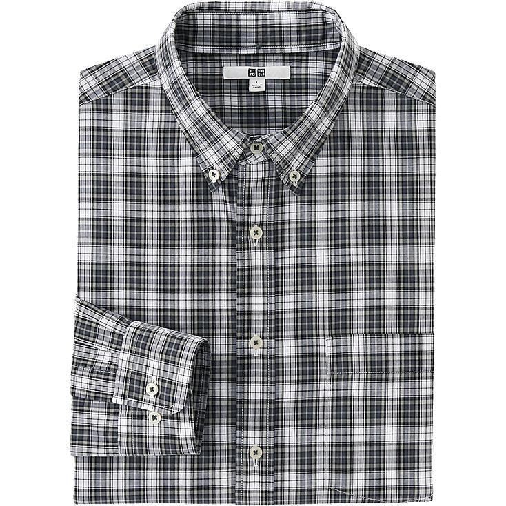 HERREN Hemd kariert aus extra feiner Baumwolle