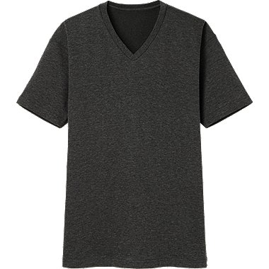 MEN Dry V Neck Short Sleeve T-Shirt