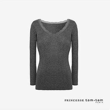 WOMEN PRINCESSE TAM.TAM HEATTECH Long Sleeve T-Shirt
