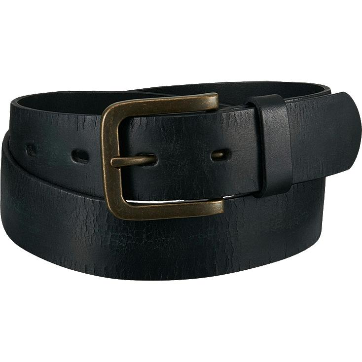 MEN Italian Leather Cracked Belt