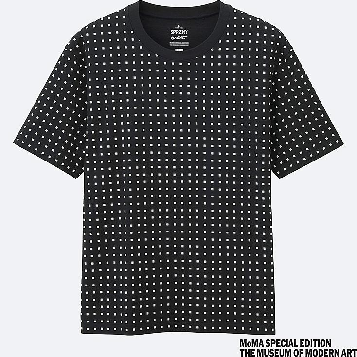 MEN SPRZ NY Short Sleeve Graphic T-Shirt (Francois Morellet)