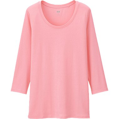 T-Shirt Coton Supima Col Rond FEMME