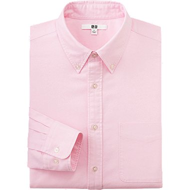 MEN Oxford Long Sleeve Regular Fit Shirt