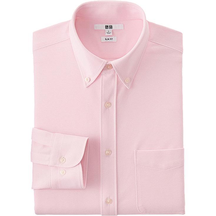 Camisa de punto confort manga larga HOMBRE