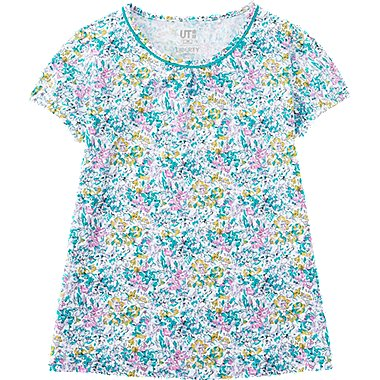 LIBERTY LONDON T-Shirt Graphique Manches Courtes FILLE