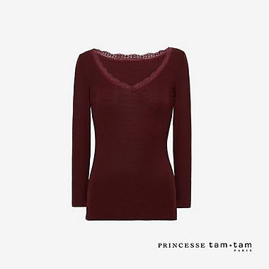 WOMEN PRINCESSE TAM.TAM HEATTECH LONG SLEEVED T-SHIRT