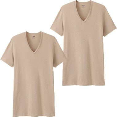 MEN Supima Cotton Short Sleeve T-Shirt (2 Pairs)