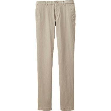 MEN Ultra Stretch Chino Flat Front Pants