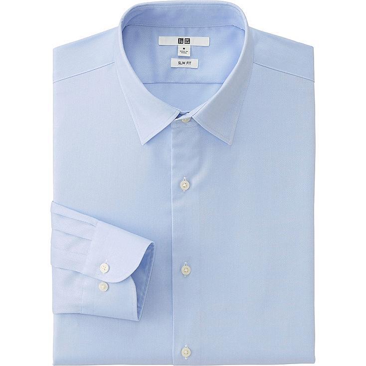 HERREN Oxford Easy Care Slim Fit Hemd