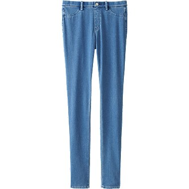 WOMEN Denim Leggings Trousers