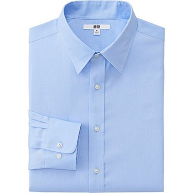 MEN Easy Care Oxford Regular Fit Long Sleeve Shirt