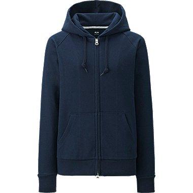 WOMEN Sweat Full-Zip Hooded Jacket