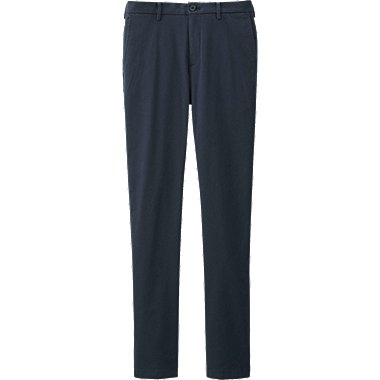 MEN Slim Fit Chino Flat Front Trousers
