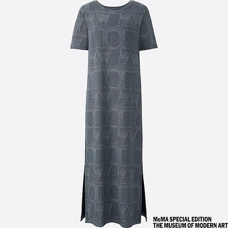 WOMEN SPRZ NY Short Sleeve T Dress (Sol LeWitt)