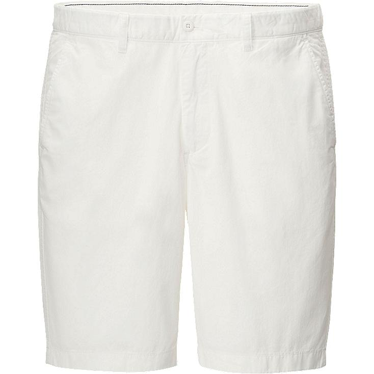 Chino shorts, WHITE, large