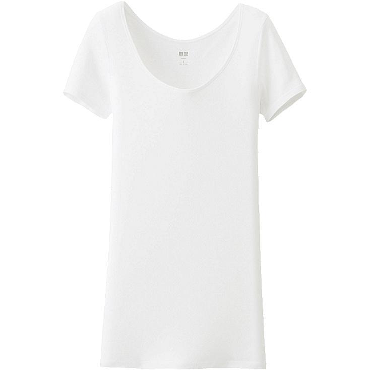 WOMEN Supima Cotton Scoop Neck T-Shirt