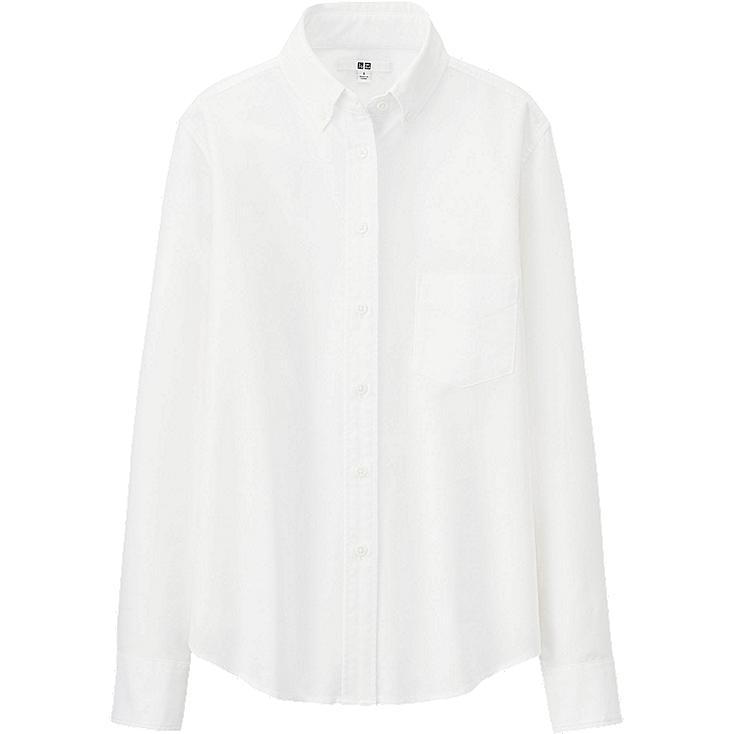 WOMEN Oxford Long Sleeve Shirt