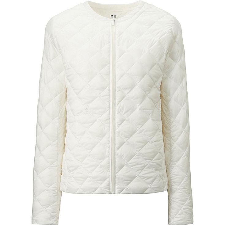 WOMEN ULTRA LIGHT DOWN COMPACT JACKET, WHITE, large