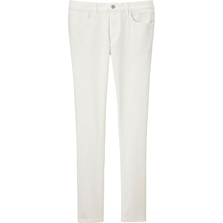Men SKINNY FIT COLORED Jeans, WHITE, large