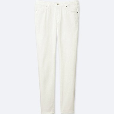 Mens Miracle Air Skinny Jeans, WHITE, medium