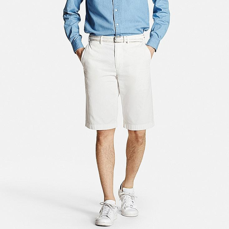 Uniqlo Mens Chino Shorts (White)