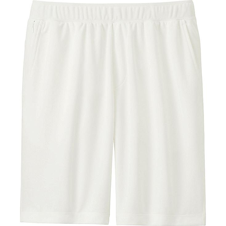 Men's DRY-EX Shorts, WHITE, large