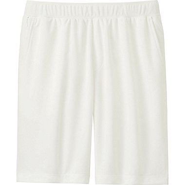 Mens DRY-EX Shorts, WHITE, medium