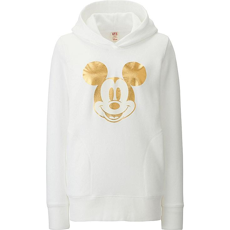 Women Disney Project CNY Graphic Hoodie, WHITE, large