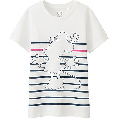 Women Disney Project Graphic T-Shirt, WHITE, medium