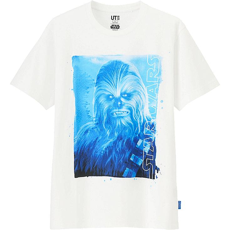MEN STAR WARS GRAPHIC T-SHIRT, WHITE, large