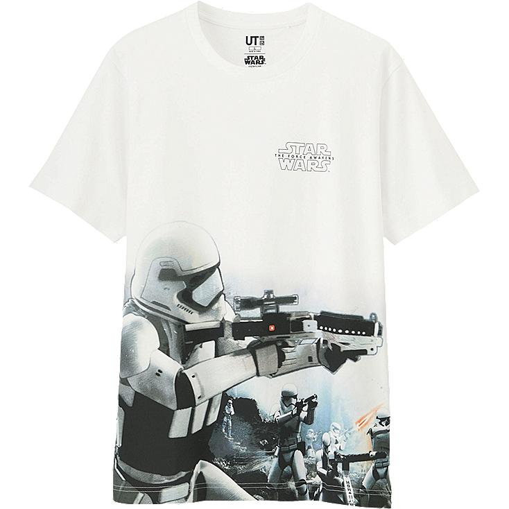 Men's Star Wars Graphic Tee, WHITE, large