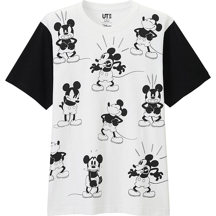 Men's Disney Project Graphic Tee, WHITE, large
