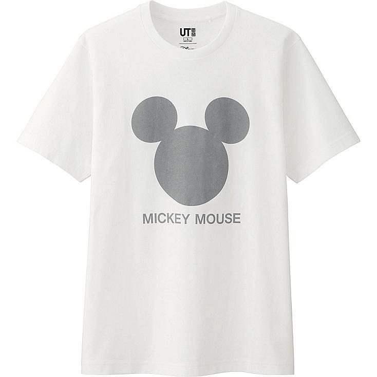 Men Disney Project Graphic T-Shirt, WHITE, large