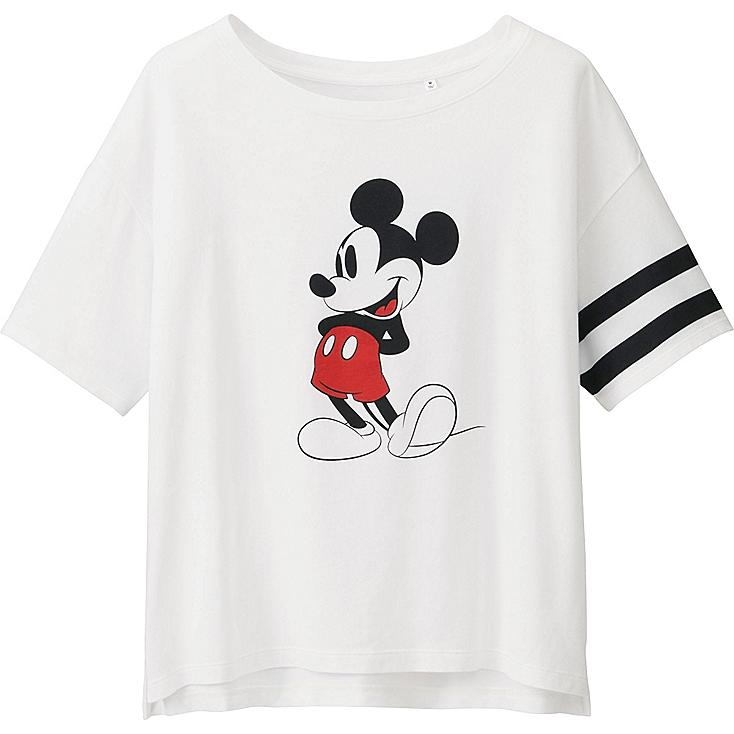 Women's Disney Project Graphic Tee, WHITE, large