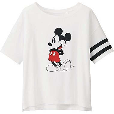 Womens Disney Project Graphic Tee, WHITE, medium
