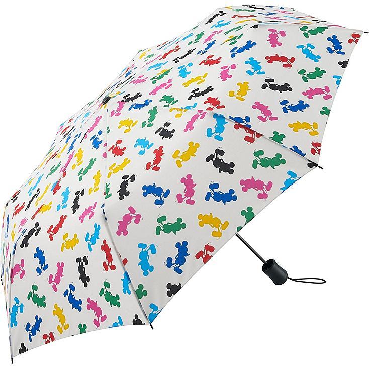 Men Disney Project Compact Umbrella, WHITE, large