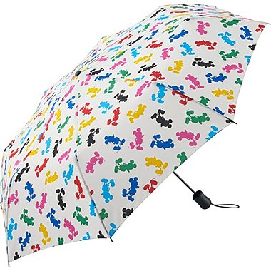 Men Disney Project Compact Umbrella, WHITE, medium
