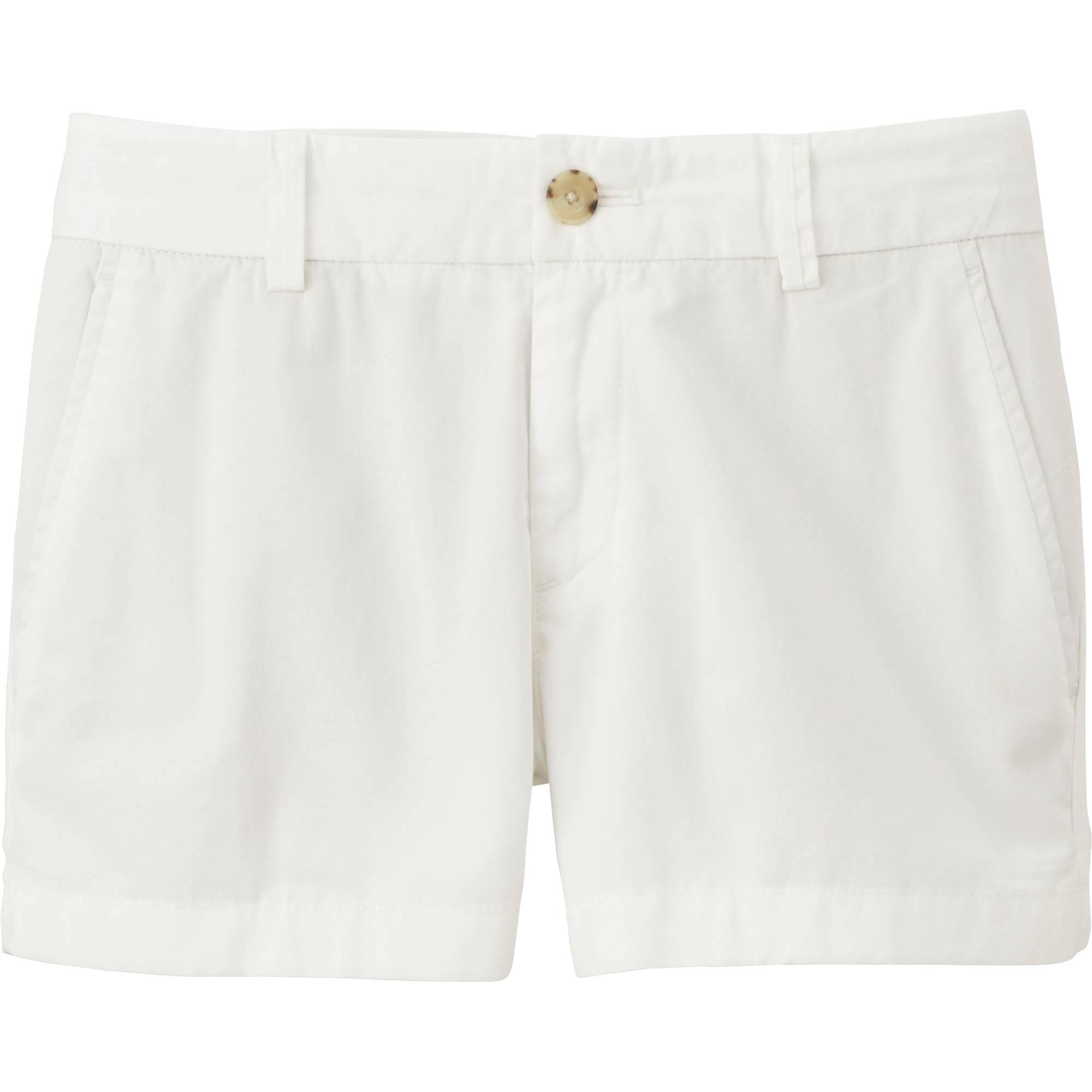 White Shorts Women'S