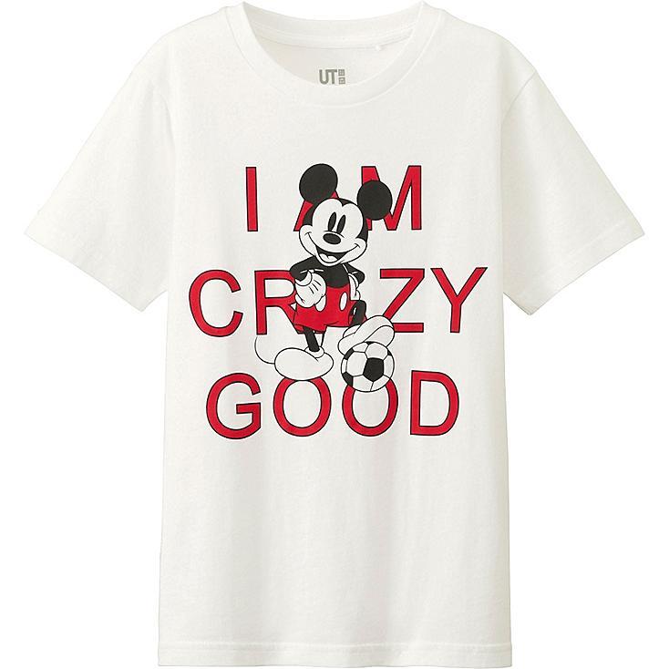 Boys Disney Project T-Shirt, WHITE, large