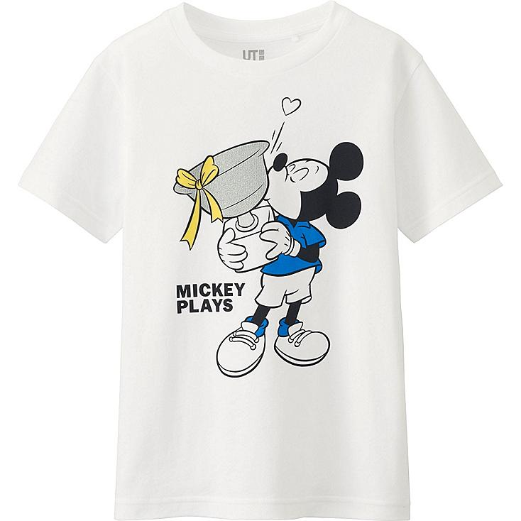 T-Shirt Manches Courtes Mickey Plays GARÇON