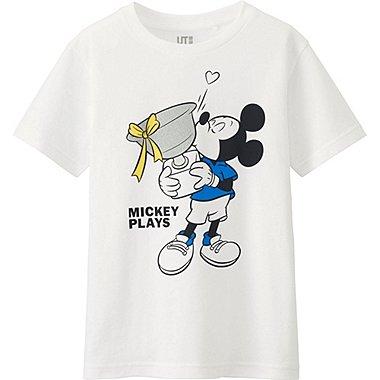JUNGEN T-Shirt Bedruckt Mickey Plays