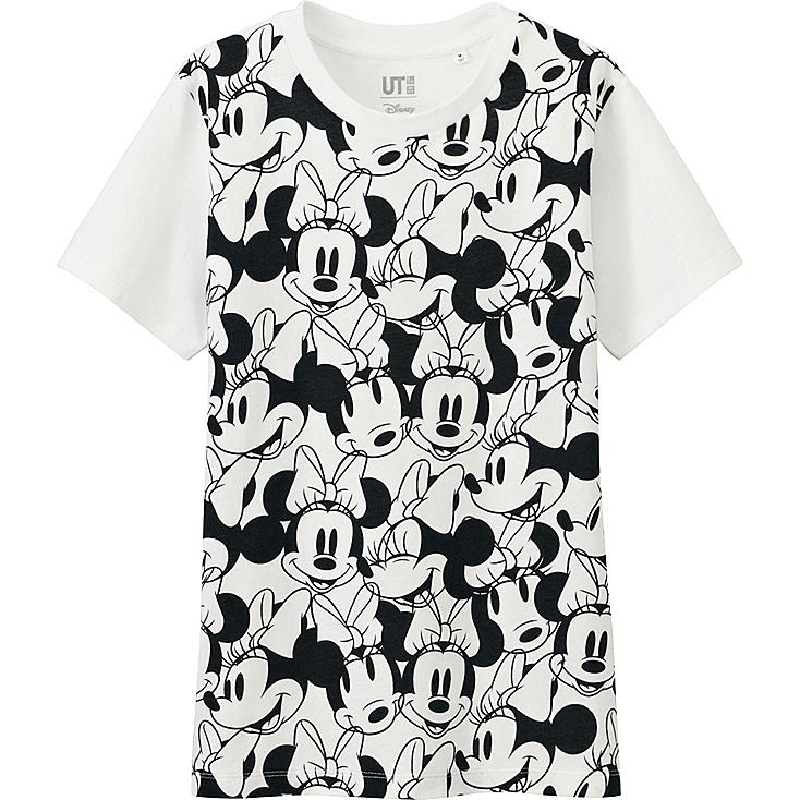Women Disney Project Graphic T-Shirt, WHITE, large