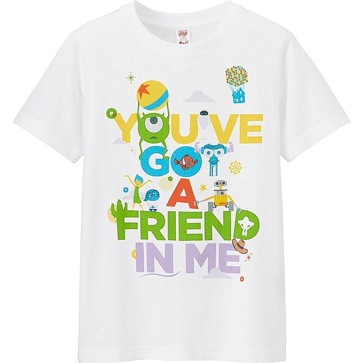 UTGP Pixar Graphic T-Shirt, WHITE, large