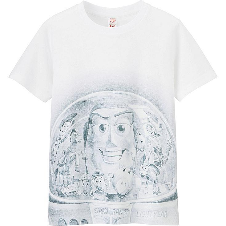 UTGP Pixar Graphic T-Shirt, WHITE, large