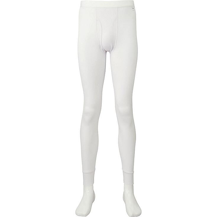 MEN HEATTECH TIGHTS, WHITE, large