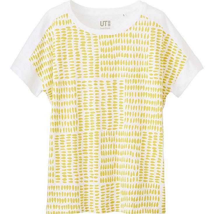 Women Sister Parish Design Graphic T-Shirt, WHITE, large