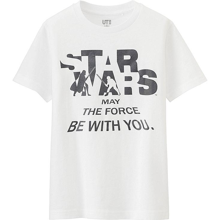 Boys Star Wars Graphic T Shirt Uniqlo Us